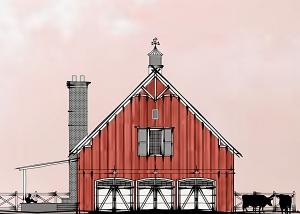 Mt Hermon Barn - Woolf Architecture