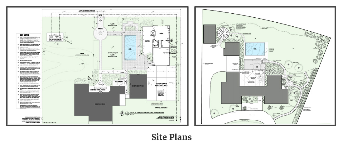 Site Plans - Woolf Architecture