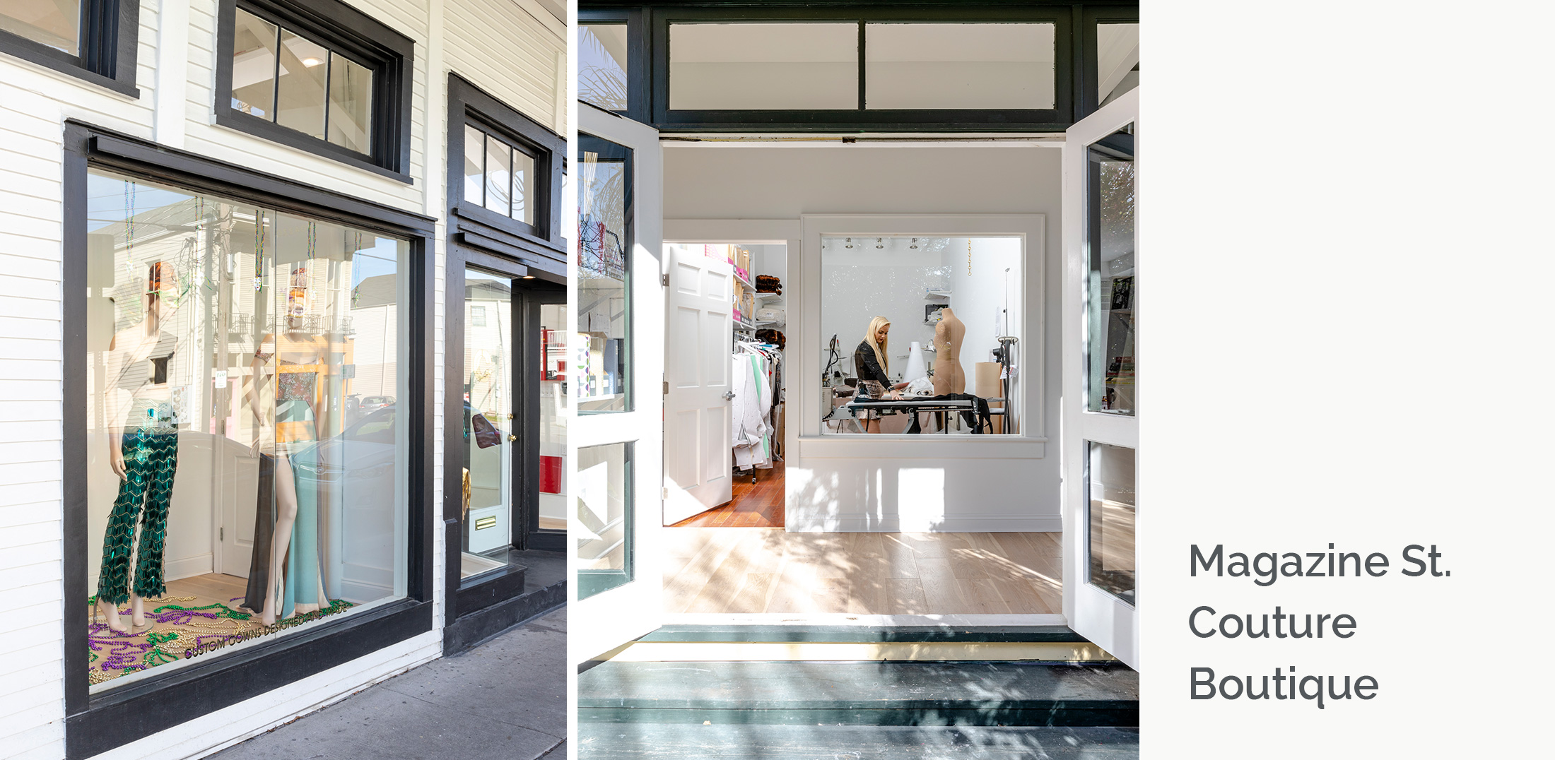 Magazine St Couture Boutique - Woolf Architecture