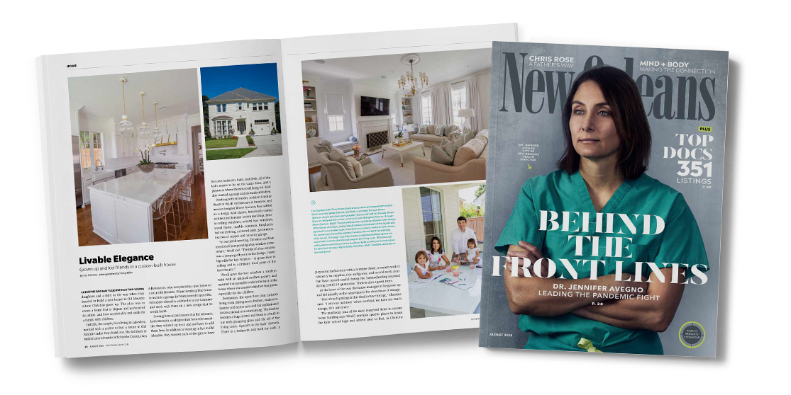 New Orleans Magazine Mockup - Woolf Architecture
