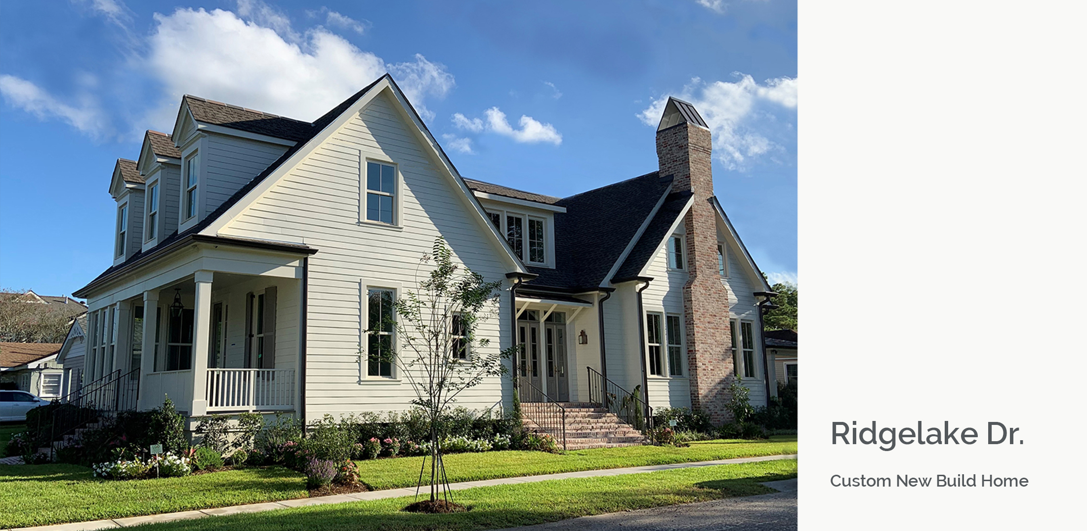 Ridgelake Drive House - Woolf Architecture