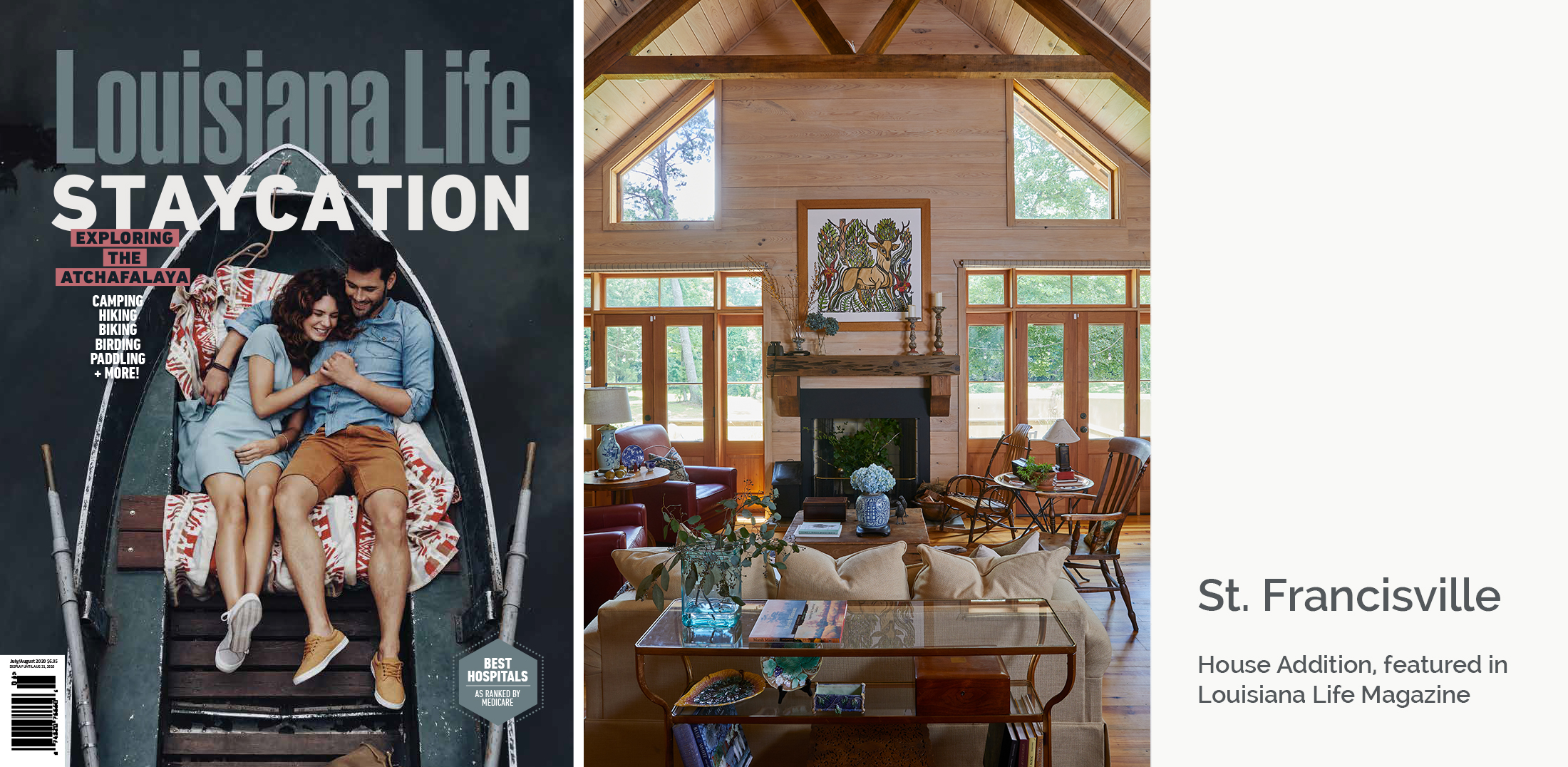 Louisiana Life Magazine Featured Article - Woolf Architecture